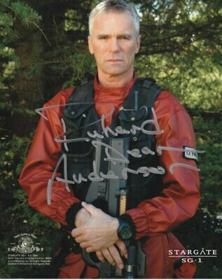 Richard Dean Anderson signed Stargate photo (63498)