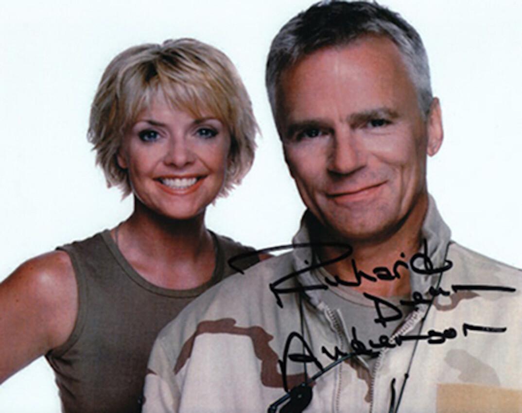 Richard Dean Anderson signed Stargate photo (63862)
