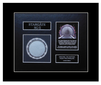 STARGATE IRIS DISPLAY - 50% OFF!
