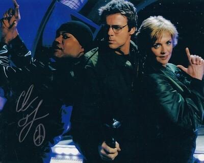 Christopher Judge signed Stargate photo (19827)