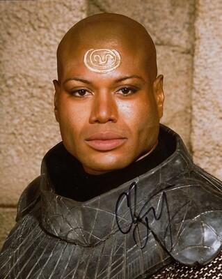 Christopher Judge signed Stargate photo (63982)