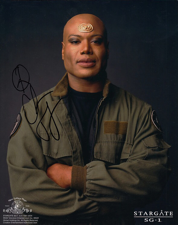 Christopher Judge signed Stargate photo (19818)