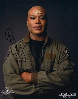 Christopher Judge signed Stargate photo (19818)