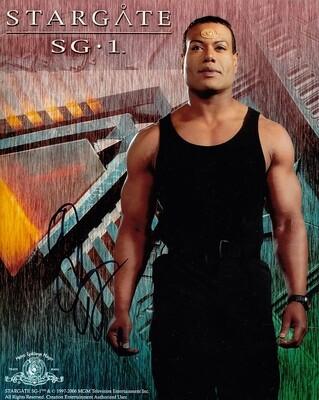 Christopher Judge signed Stargate photo (21091)