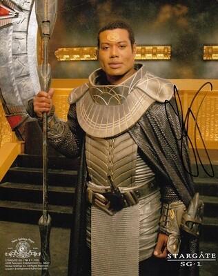 Christopher Judge signed Stargate photo (63606)