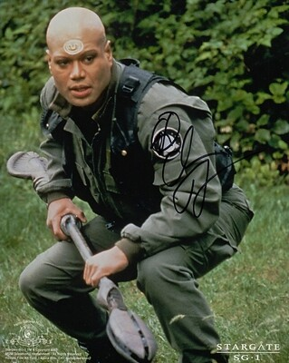 Christopher Judge signed Stargate photo (19825)