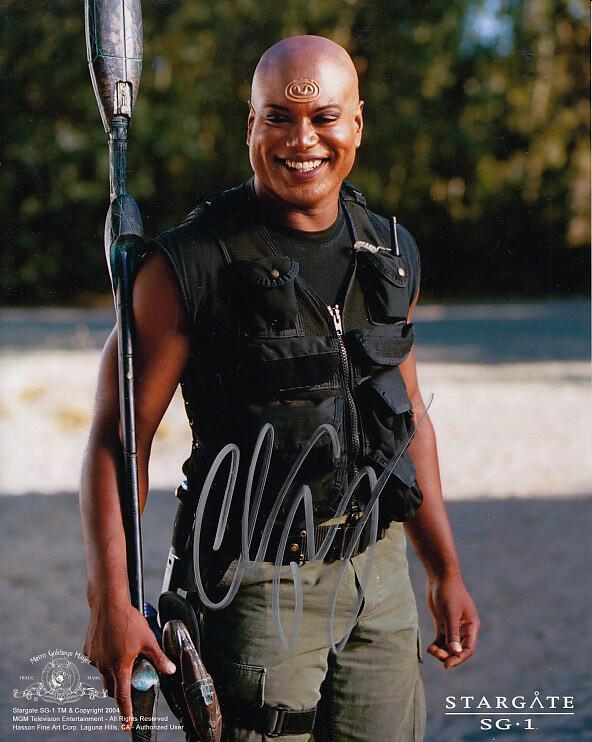 Christopher Judge signed Stargate photo (20535)
