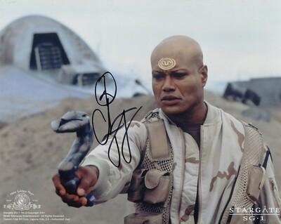 Christopher Judge signed Stargate photo (19813)