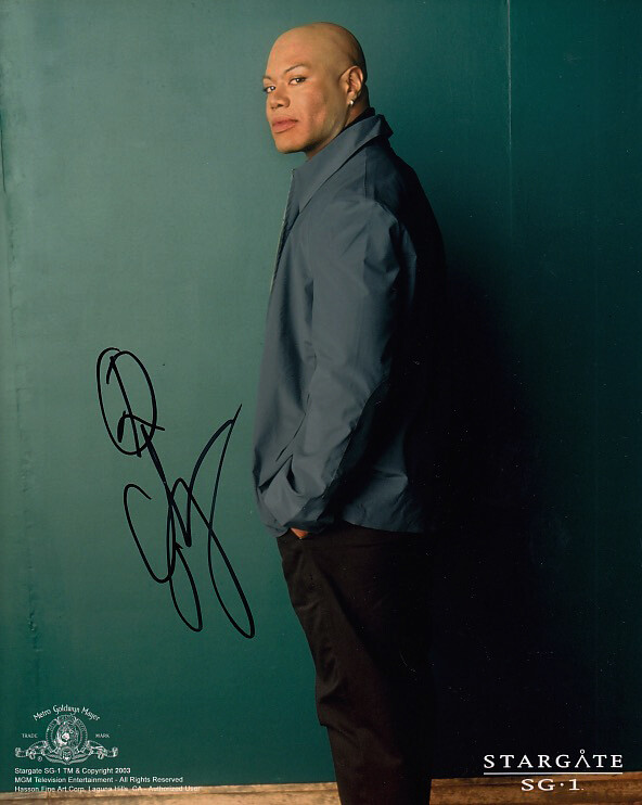 Christopher Judge signed Stargate photo (63609)
