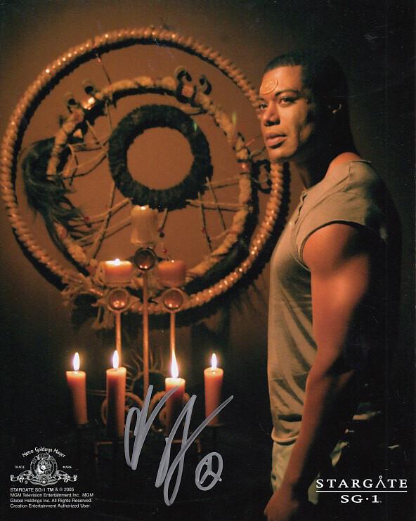Christopher Judge signed Stargate photo (63959)