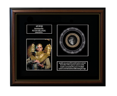 FRAMED APOPHIS GOLD COIN DISPLAY - LIMITED SERIES!