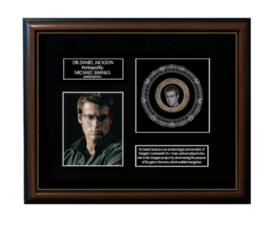 FRAMED DANIEL JACKSON GOLD COIN DISPLAY - LIMITED SERIES!