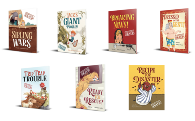 7 book Multipack (great value)