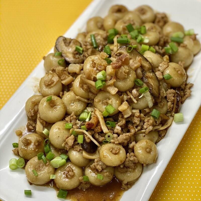 客家算盤子(煮好)- Cooked Hakka Abacus Seeds