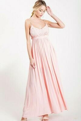 BiBi Open Back Maxi Dress