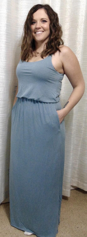 Zenana Two Layer Maxi Dress