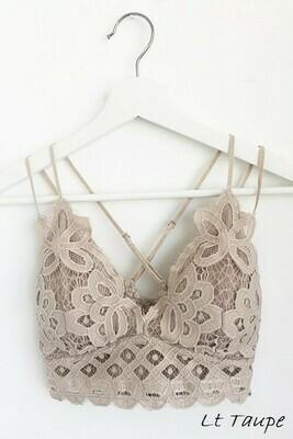 Lace Crochet Bralette