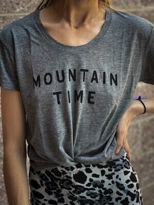 Mtn Time Tee, Grey