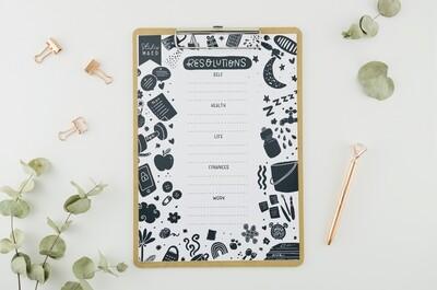 Resolution Printable