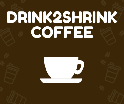 Drink2Shrink Coffee 1 Serving Trial  FREE SHIPPING!