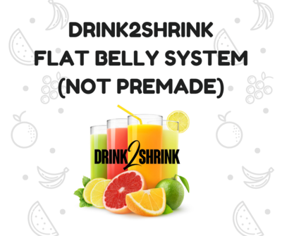 Lose Up To 20 Pounds Flat Belly System 4 WEEKS SUPPLY FREE SHIPPING! (Not Premade)