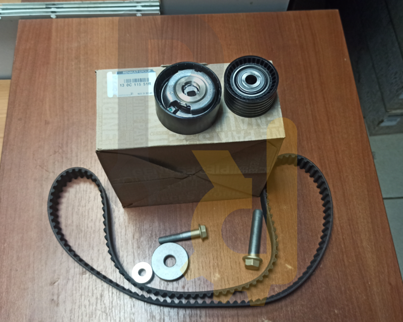 Комплект ГРМ F4R Дастер 2.0l 130C11551R Renault