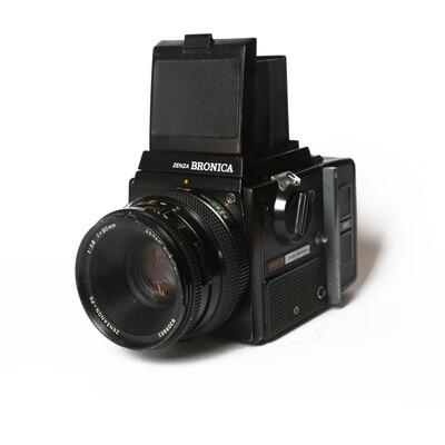 Bronica SQ-A, Zenzanon PS 80/2,8
