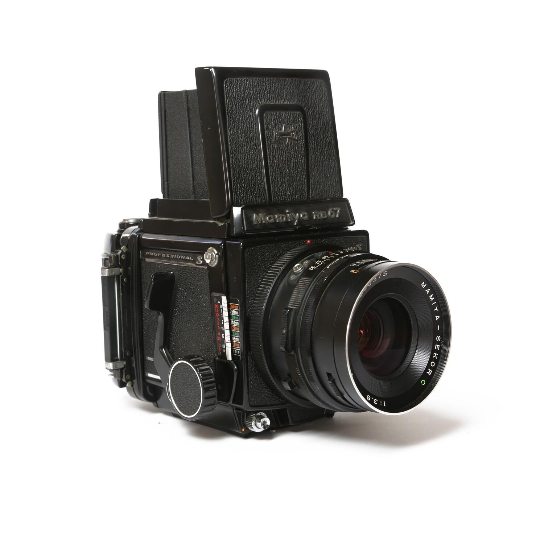 MAMIYA RB67 PRO-S, Sekor-C 90mm/f3,8