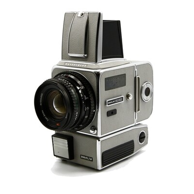 HASSELBLAD 500EL/M White, 20 years in Space, Planar 80mm/F2,8 C T*