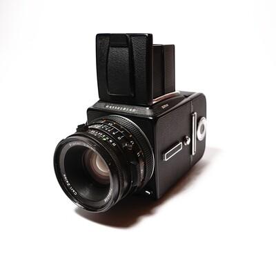 HASSELBLAD 501 C\M Black, Planar 80mm/F2,8 CF T*