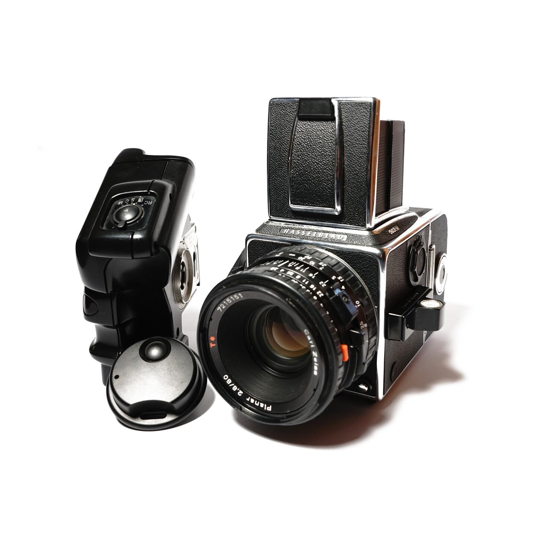 HASSELBLAD 503 CW Chrome, Planar 80mm/F2,8 CFE T*