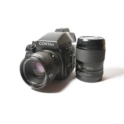 CONTAX 645, Planar 80/2 T* + Sonnar 140/2.8 T*
