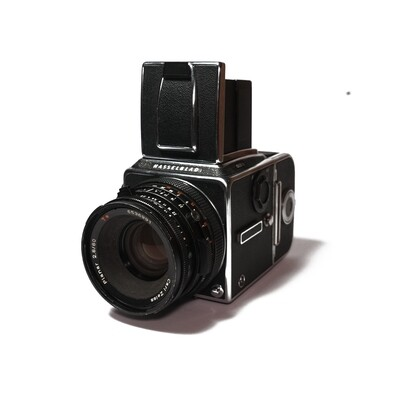 HASSELBLAD 503CX Chrome, Planar 80mm/F2,8 CF T*