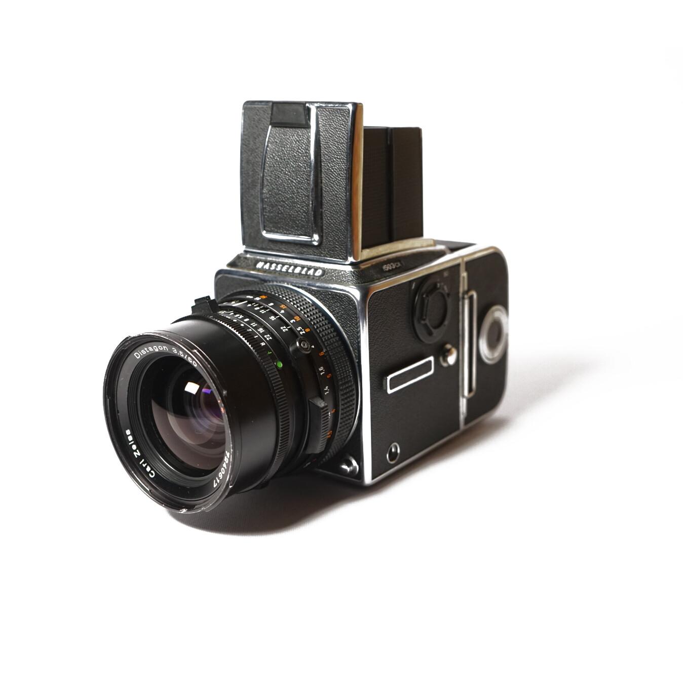 HASSELBLAD 503CX Chrome, Planar 60mm/F3,5 CF T*