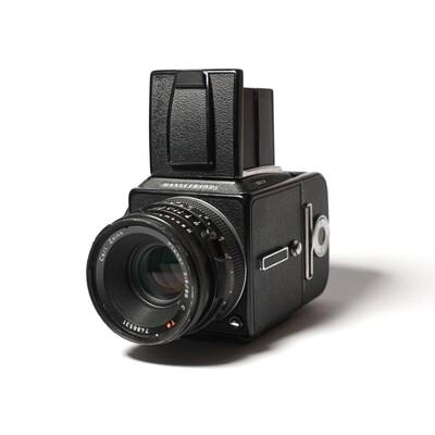 HASSELBLAD 501 C\M Black, Planar 80mm/F2,8 C T*