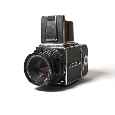 HASSELBLAD 501 C\M Chrome, Planar 80mm/F2,8 CF T*