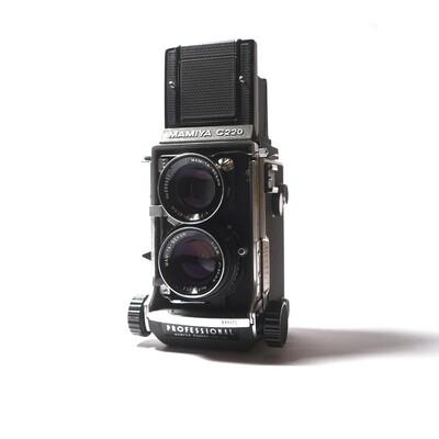 MAMIYA C220 PRO, Sekor 80mm/f2,8