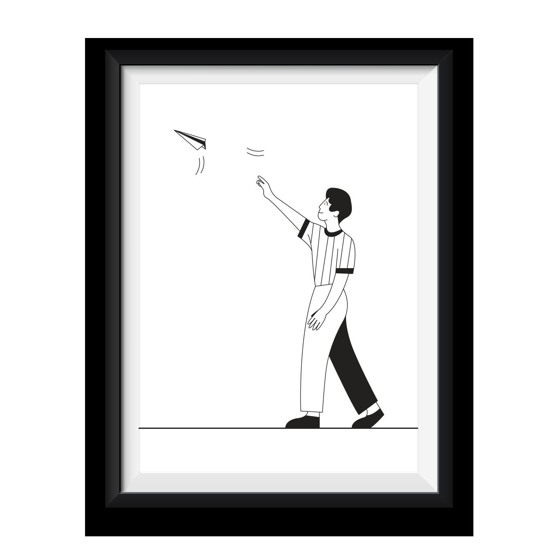 Catch my concept – print
