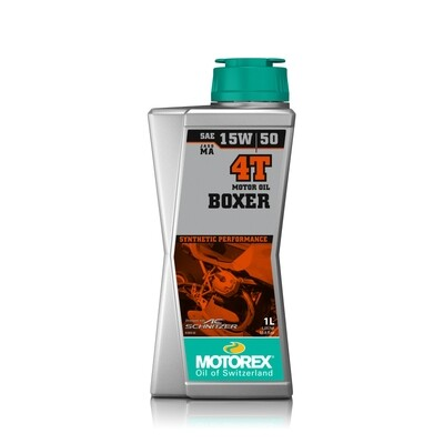 BOXER 4T SAE 15W/50 MOTOR OIL  -4 L