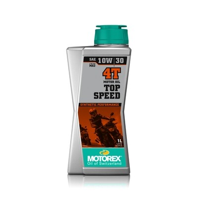 TOP SPEED 4T  SAE 10W/30 JASO MA 2 Motor Oil - 1L