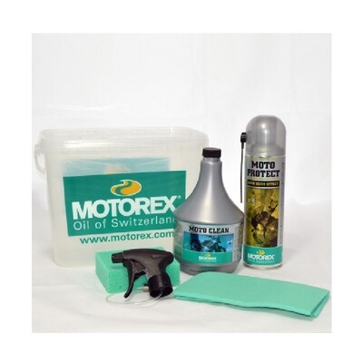 MOTO CLEANING KIT 4x1 Bucket
