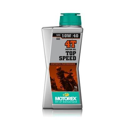 TOP SPEED 4T  SAE 10W/40 JASO MA 2 Motor Oil 1 L