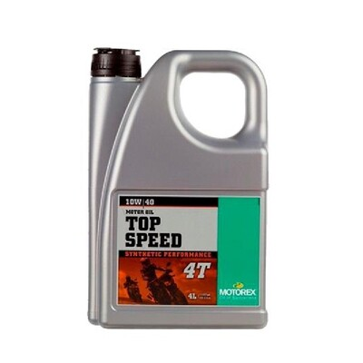 TOP SPEED 4T  SAE 10W/40 JASO MA 2 Motor Oil - 4 L