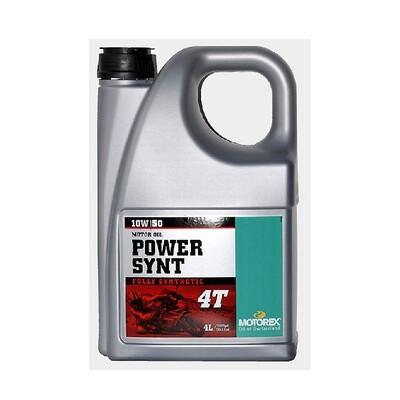 POWER SYNT 4T SAE  10W/50 JASO MA 2- 4L