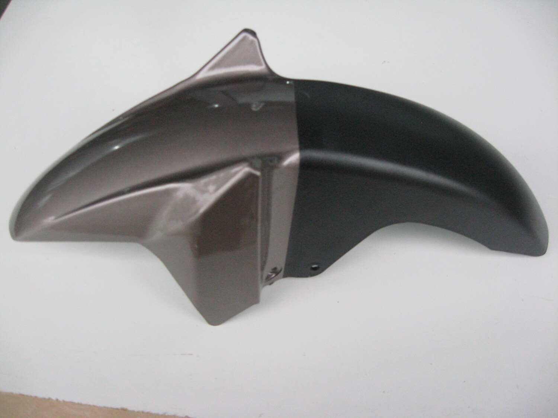 KRC50-10-40BLA  FRONT PLASTIC FENDER -წინა დამცავი პლასტმასის,BLACK/grey