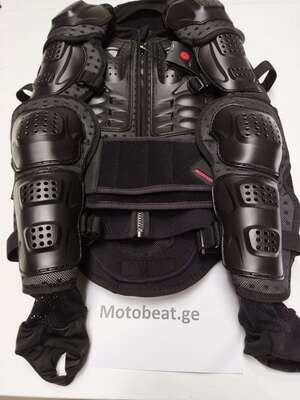 Motorcycle Protection Amor Safety Chest Back Protector Armor Gear MBX Vest Moto Armor Motocross Gear Vest clothing