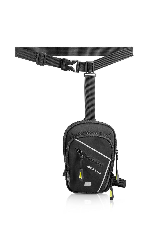 ფეხის ჩანთა-X-SIDE BAG 1L-BLACK