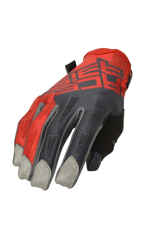 ხელთათმანი MX X-H GLOVES Red/Grey