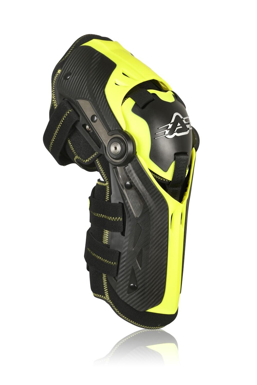სამხულე - GORILLA Knee Guard (Level 2) Black/Yellow
