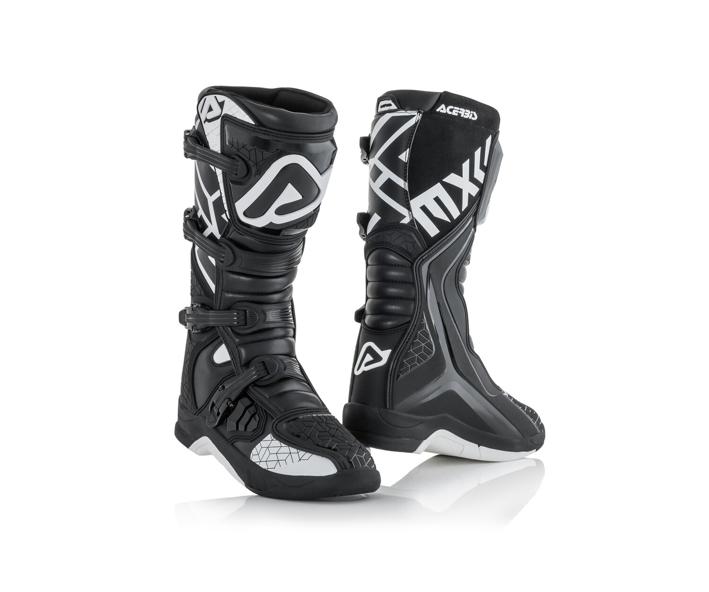 ჩექმა BOOTS X-TEAM - BLACK/WHITE
